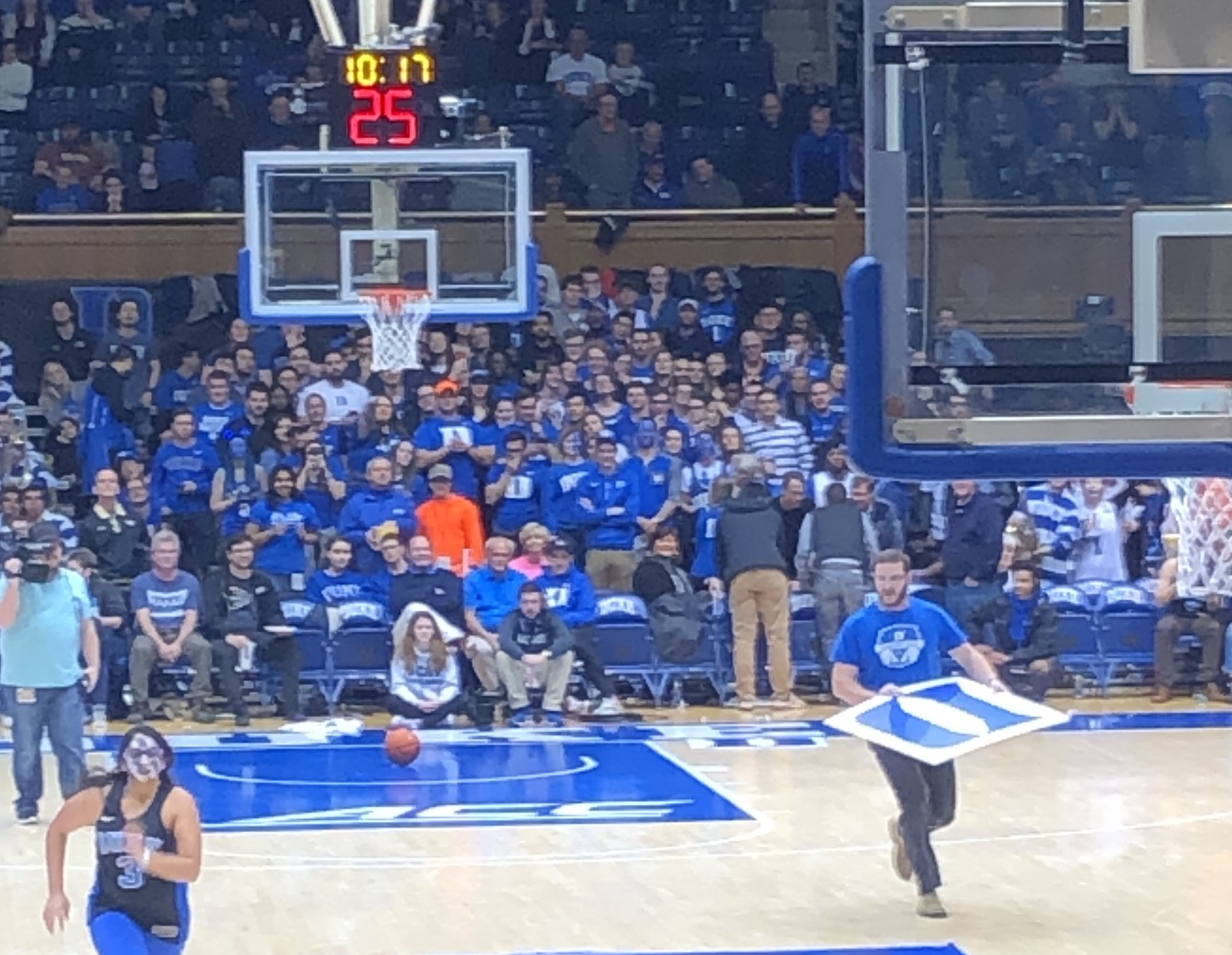 Greg Spell at Cameron Indoor